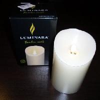 Adventskalender, 22. Türchen: Echtwachs-LED-Kerze von Luminara