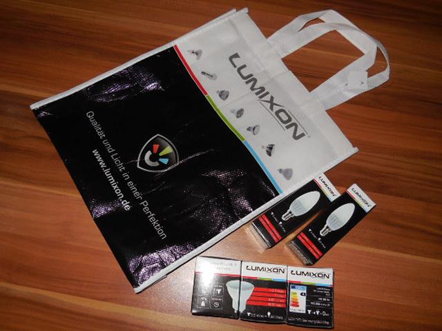 Lumixon GU10 Spot und E14 Kerze LED Technics von der LEDMeile