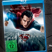 beendet – Gewinnspiel: Man of Steel Blu-ray zu gewinnen!