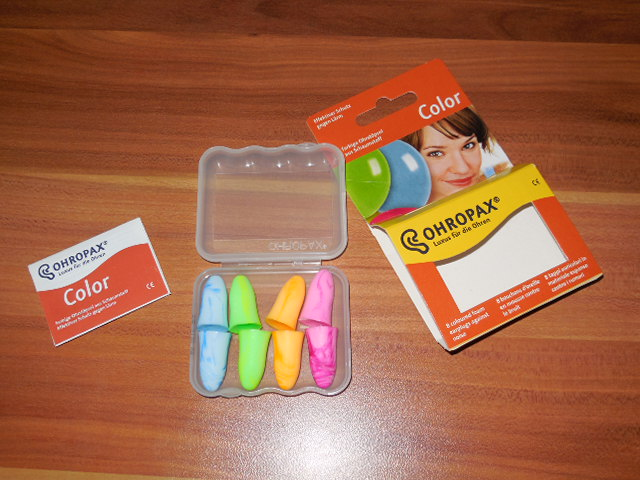 ohropax color - Ohropax Color im Test
