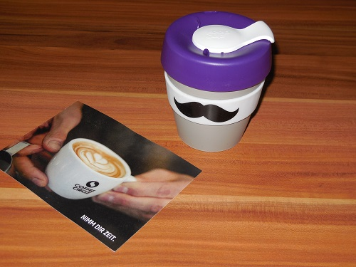 schnubbi Tasse vom coffee circle 1 - Schnubbi KeepCup vom Coffee Circle