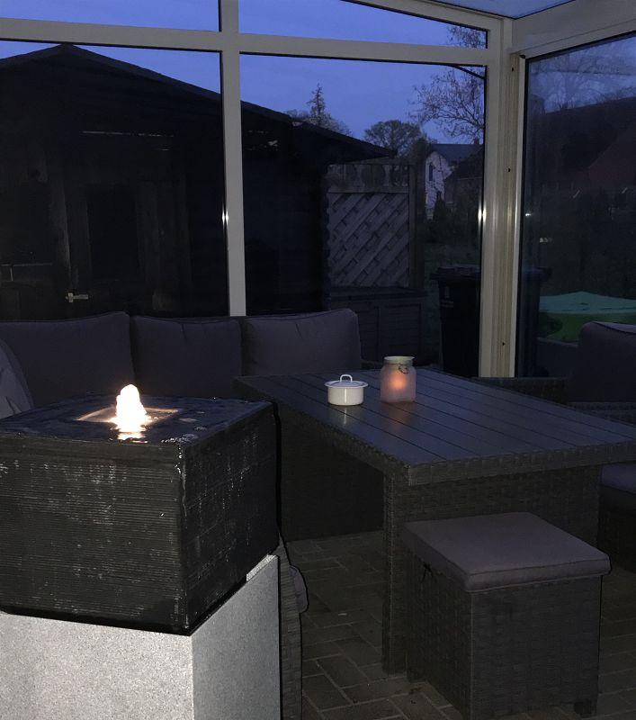 stimmungsvolle Wintergartenbeleuchtung 1 - Unsere Wohlfühloase mit stimmungsvoller Wintergartenbeleuchtung