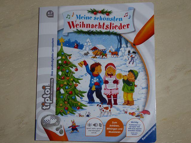 Rezension: tiptoi Buch Meine schönsten Weihnachtslieder