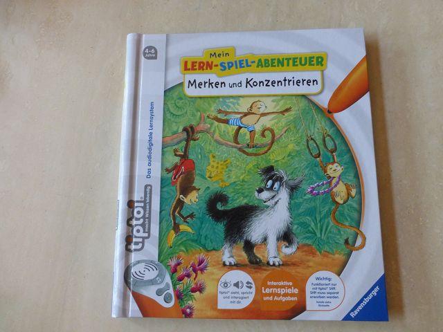 Rezension: tiptoi Mein Lern-Spiel-Abenteuer Merken und Konzentrieren