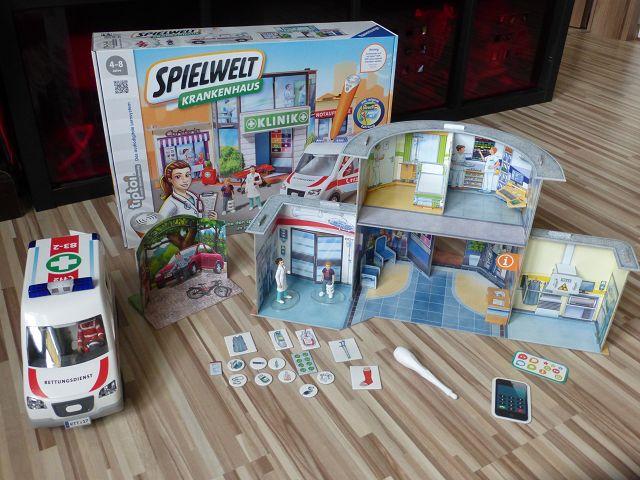 Produkttest: tiptoi Spielwelt Krankenhaus