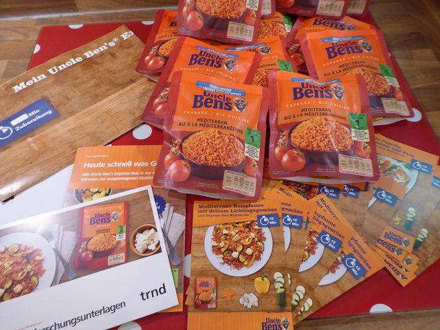 Produkttest: trnd Projekt Uncle Ben's Express Mediterran Reis