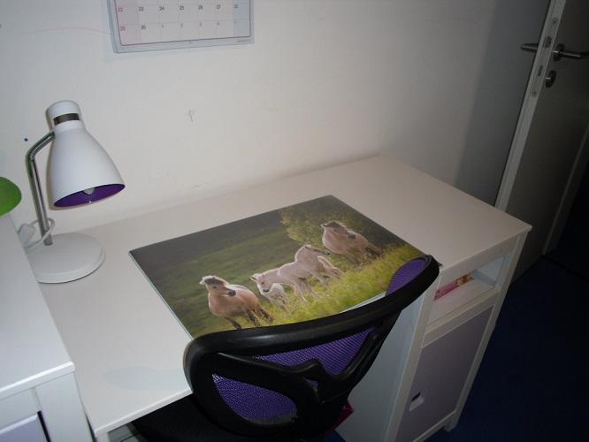 Schreibtischunterlagen, die individuelle Verschönerung eures Arbeitsplatzes