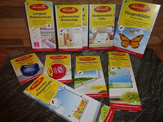 Produkttest: verschiedene Aeroxon Produkte im Test