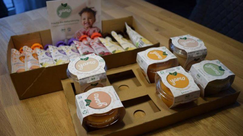 Produkttest: Babynahrung von yamo