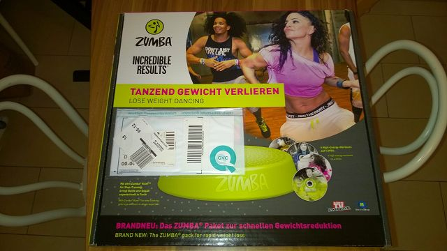"ZUMBA ""Incredible Results"" im Test"
